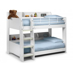 Domino Bunk Bed All White - Brixton Beds