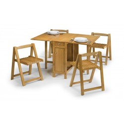 Savoy Dining Set in Light Oak