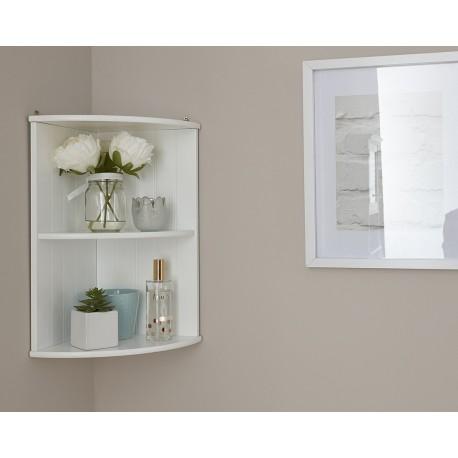 Colonial Corner Wall Shelf Unit