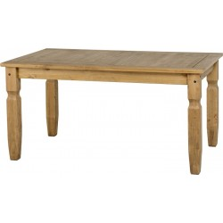 Corona 5' Dining Table in Distressed Waxed Pine