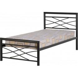 Kelly 3' Bed in Black