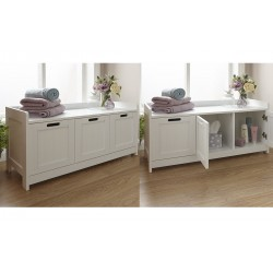 Birlea Corona 3 Drawer Console Table with Shelf