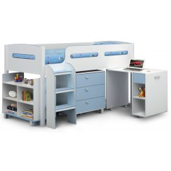 Kimbo Cabin Bed - Blue