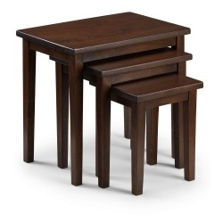 Cleo Nest of Tables - Mahogany