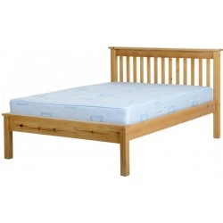 """Monaco 4'6"""" Bed Low Foot End"""