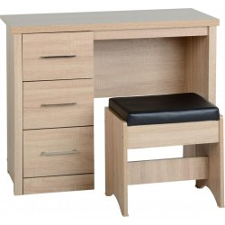 Lisbon 3 Drawer Dressing Table Set