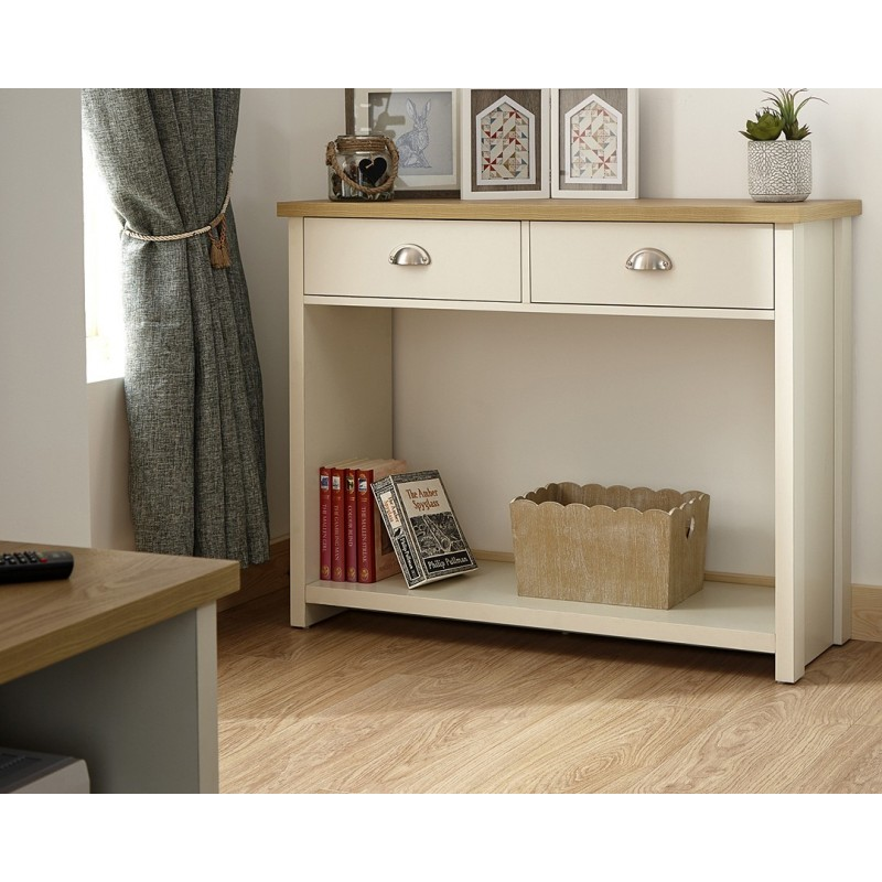 best loved 636a5 81d39 LANCASTER Console Hall Table In Cream - Brixton Beds.