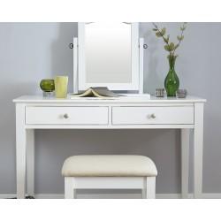 HATTIE Dressing Table Set White