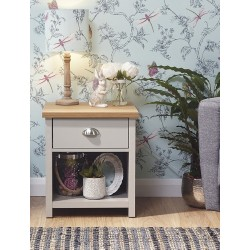 LANCASTER LAMP TABLE In GREY