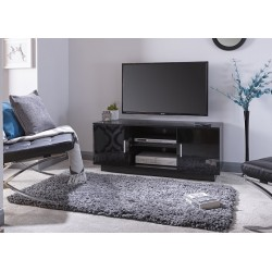 Lima High Gloss TV Unit Black