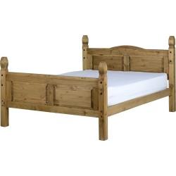 Corona 5' Bed High Foot End