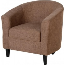 Tempo Tub Chair in Sand Fabric