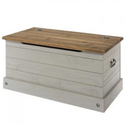 Corona Grey Storage Trunk