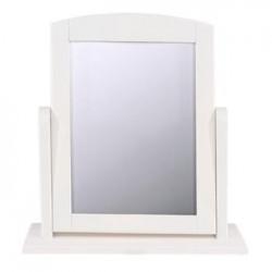 Single Mirror - White