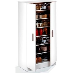 Zuldy White Shoe Cupboard