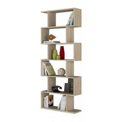 Zing Oak Effect Large Bookcase