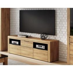 Camar Large Oak Effect 2 Drawer TV Cabinet K25