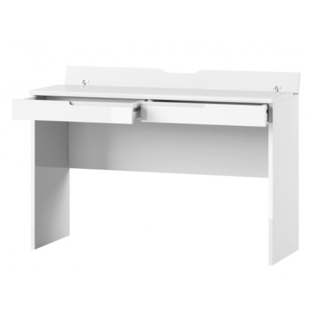 Santino White Gloss 2 Drawer Dressing Table S31
