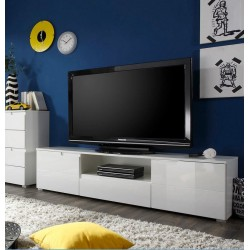 Santino White High Gloss TV Cabinet S9