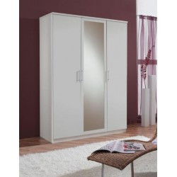 Venice Alpine White 3 Door Wardrobe