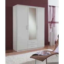 Venice Alpine White 3d 2drw Wardrobe
