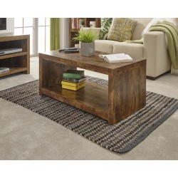 JAKARTA Coffee Table with Shelf