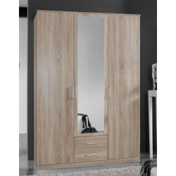 Venice Oak Effect 3d 2drw Wardrobe