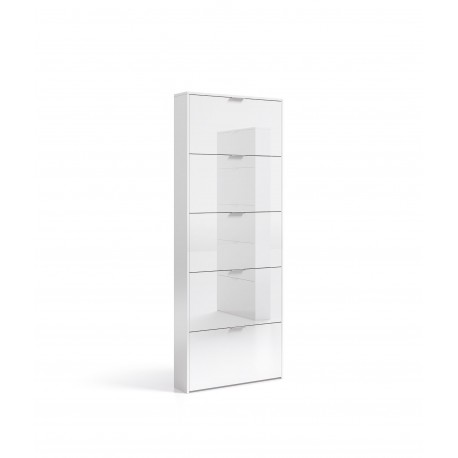 Zappa Shoe Cabinet White Gloss