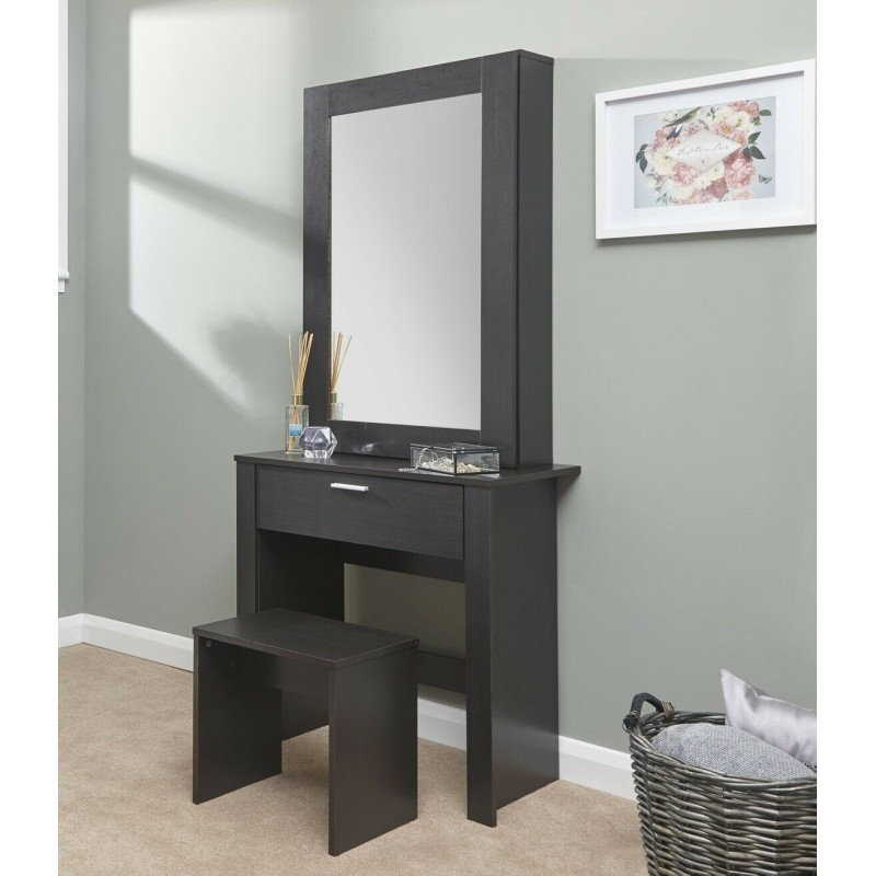 brand new 3cd58 6c5e3 HOBSON Dressing Table Set In Espresso - Brixton beds