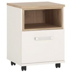 4KIDS 1 door desk mobile with opalino handles