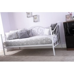 MADISON DAY BED FRAME IN WHITE