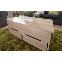 ULTIMATE STORAGE Coffee Table In Oak
