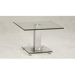 Ankara Lamp Table Clear Glass