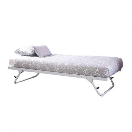 MADISON Under Bed Trundle In White