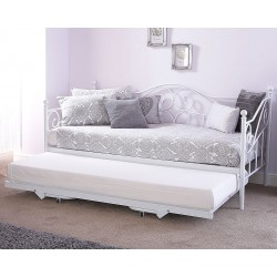 MADISON DAY BED With Trundle In WHITE