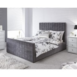 DELAWARE Ottoman Bed In Pewter