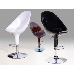 Bar Stool Chrome Model 5 (Sold in Pairs)