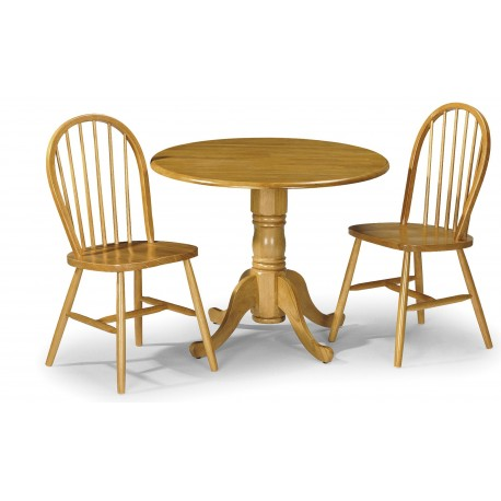 Dundee Dining Set with Windsor Chairs