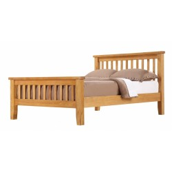 Acorn Solid Oak Bed High Footend