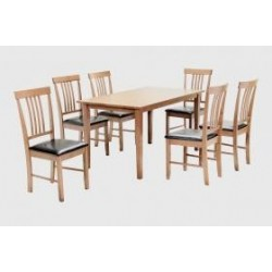 Massa Large Dining Set with 6 Chairs