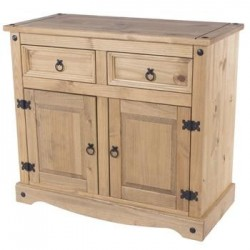 Corona Small 2 Drawer 2 Door Sideboard