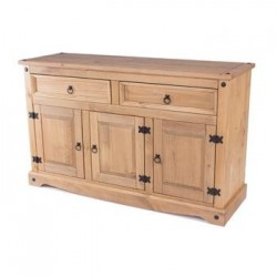 Corona Medium 2 Drawer 3 Door Sideboard