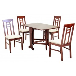 Liverpool Dining Set with 4 Chairs