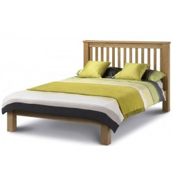 Amsterdam Low Foot End Oak Bed