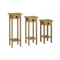 Corona Plant Stands (Set of 3)
