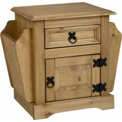 Corona 1 Drawer Magazine Table