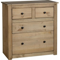 Panama 2 Plus 2 Drawer Chest