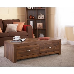 HAMPTON ACACIA 2 Drawer Coffee Table