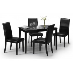 Hudson Dining Set with Four Chairs