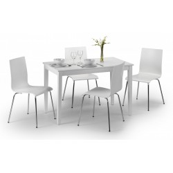 Taku Dining Set with Four Chairs